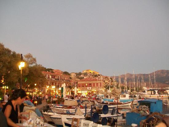 Molyvos, اليونان: Molyvos Harbour