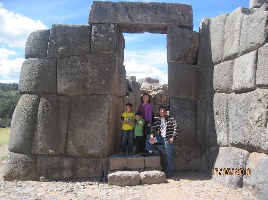 MamaSara Hotel : En Sacsayhuaman