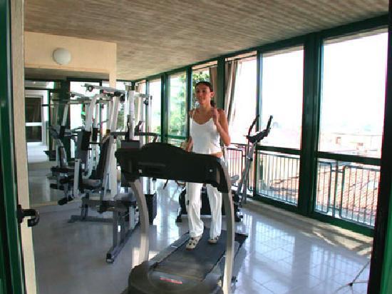 Hotel Del Buono Centro Benessere : palestra