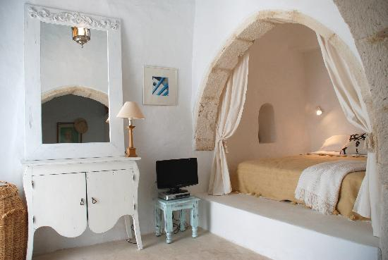 Erriadh, Tunisia: Dar Aziza: bedroom en suite 1