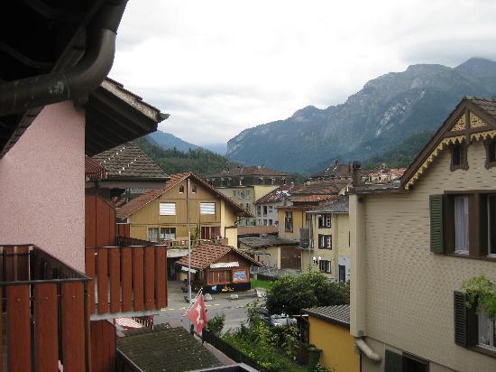 Hotel Rössli: view from balcony