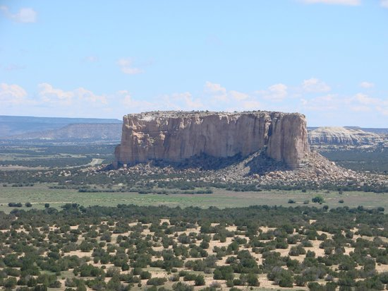 Pueblo of Acoma, NM: View from the top