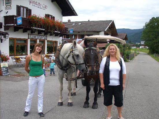 Alpenhotel Bayerischer Hof: Kutschfahrt1