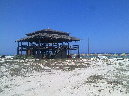 Africa Jade Thalasso: Bar sulla spiaggia