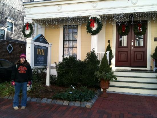 Front of Mary Prentiss Inn December 2009