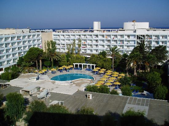 Mitsis Petit Palais Beach Hotel : Veiw from our ballcony