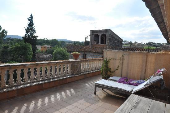 El Palauet de Monells: la terrasse