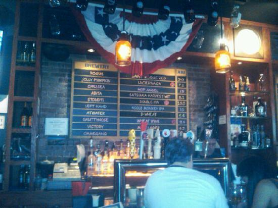 The Pony Bar : Beer list