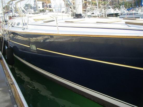 Day Sail San Diego: A sleek sailboat!