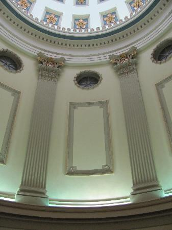 Old Capitol Museum: Another view of the dome