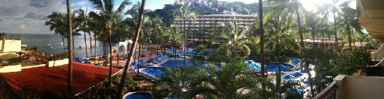 Barcelo Puerto Vallarta: view from room... thanks AutoStitch