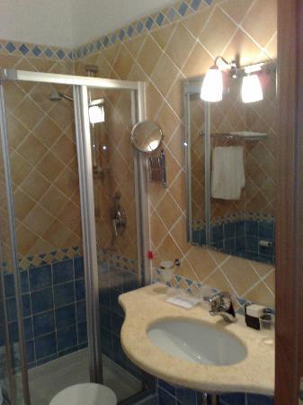 Blu Hotel Morisco Village: bagno camere