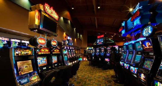 Fortune Bay Resort Casino: Our exciting gaming floor...