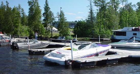 Fortune Bay Resort Casino: View from our Marina on beautiful Lake Vermilion.