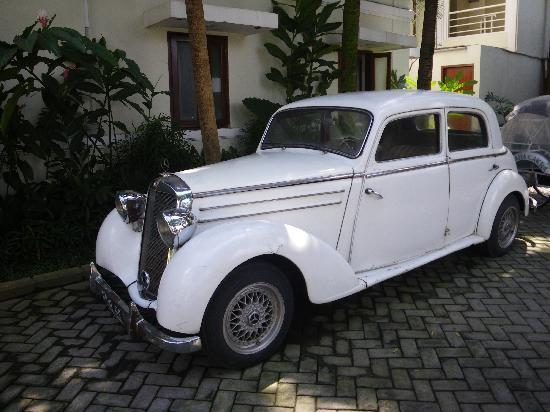 The Shalimar Boutique Hotel: voiture