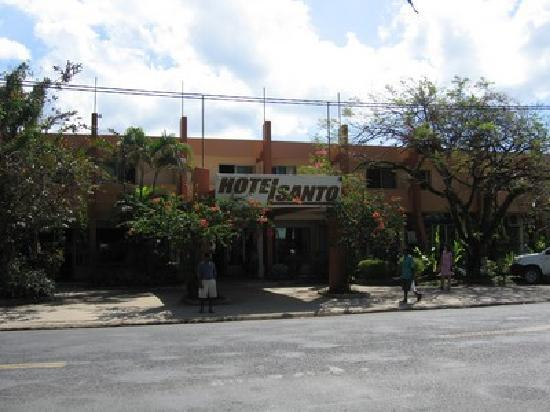 Hotel Santo, main entrance
