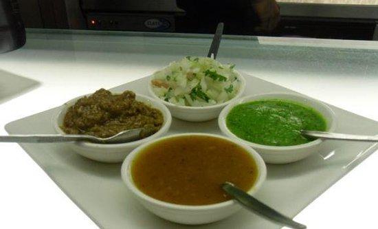 Silka Restaurant: dips