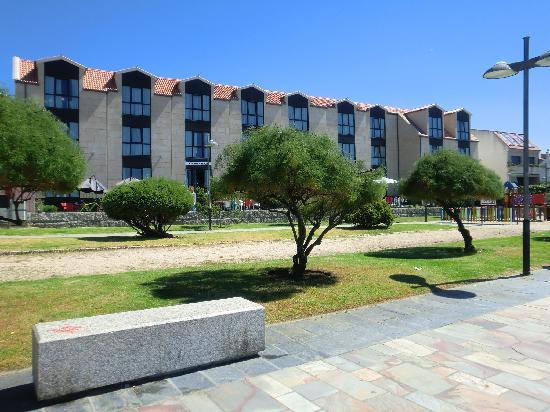 Hotel Carril: Vista fachada marítima