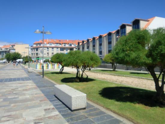 Hotel Carril: Vista fachada marítima 2
