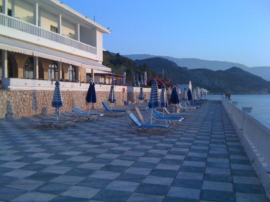 Megisti Hotel: Hotel terrace