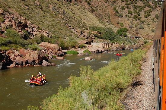 Royal Gorge Route Railroad: Whitewater rafting is another popular activity in the area