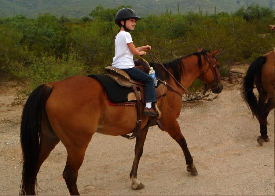 Houston's Horseback Riding: Every little girl's westernhorse fantasy.