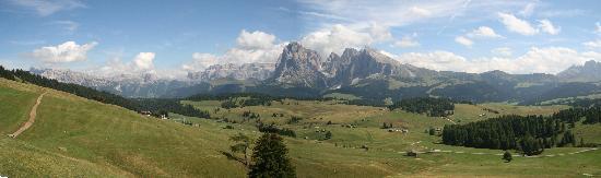 Santa Cristina Valgardena, Ιταλία: panorama