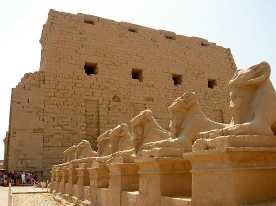 Ram headed sphinxes (27402686)