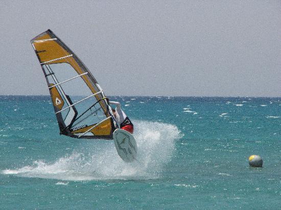 Ras Sudr, Egipto: Moonbeach windsurfing