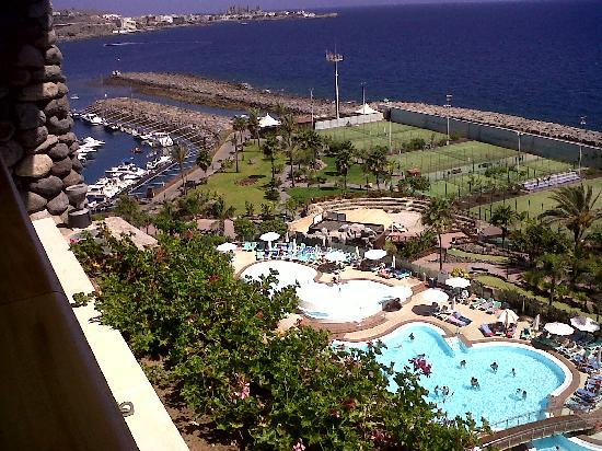 View from balcony picture of club monte anfi - Sofas gran canaria ...