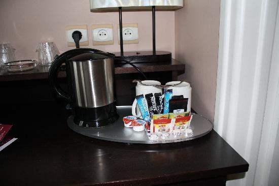 Hotel Haussmann Saint Augustin: Caffè, thè...