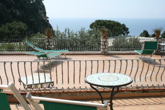 Hotel 4 Stagioni: il nostro terrazzo