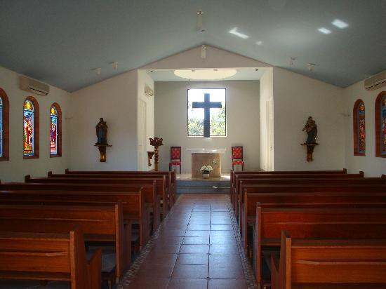 Bourbon Atibaia Convention & Spa Resort : Very nice chapel