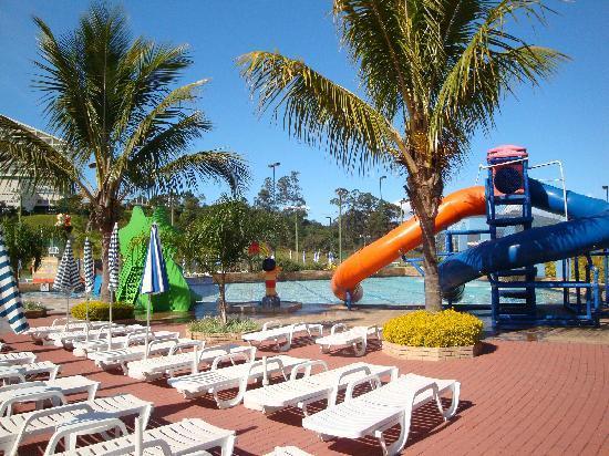 Bourbon Atibaia Convention & Spa Resort : Kids pool