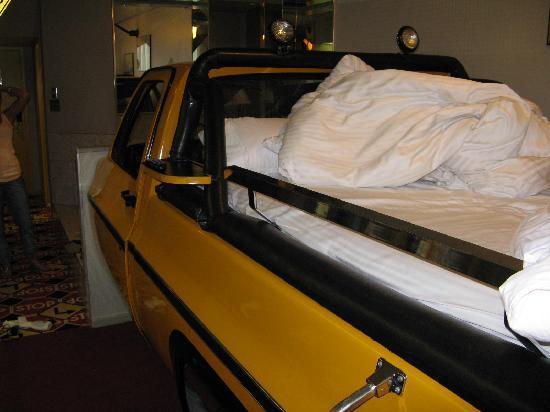 Fantasyland Hotel & Resort: Inside of Truck Room