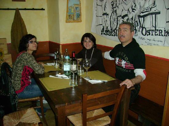 Enoteca San Pietro: Una cena in famiglia