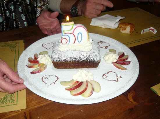 """Enoteca San Pietro: La mia """"specialissima"""" torta di compleanno"""