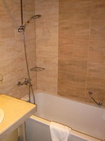 Budapest Hotel: Vista baño Deluxe 2
