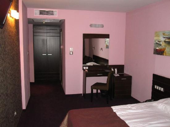 Budapest Hotel: Vista habitación Deluxe 2