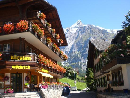 Hotel Gletschergarten: Side view of our hotel