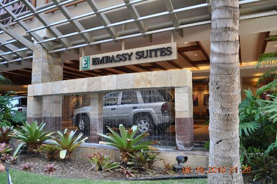 Front Entrance Picture Of Embassy Suites By Hilton