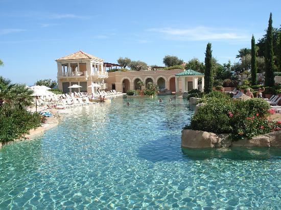 le lagon - Picture of Monte-Carlo Bay & Resort, Monte-Carlo ...