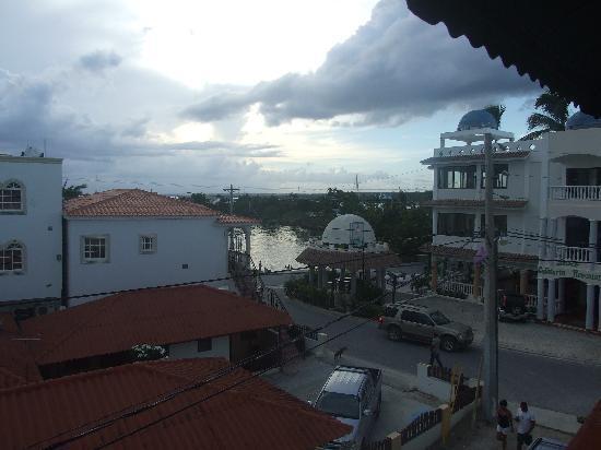 Hotel Bayahibe: View from balcony
