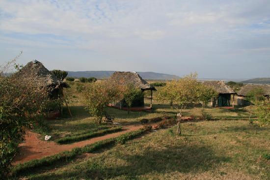Masai Mara Manyatta Camp : tented camp
