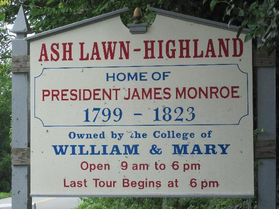James Monroe's Highland 사진