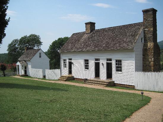 James Monroe's Highland: Slave quarters