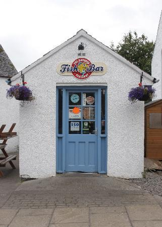 The Harbour Fish Bar: Fish Bar in Plockton.