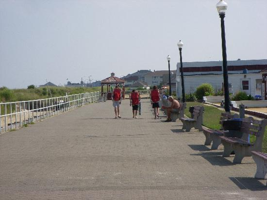 The Sandcastle Inn: The Boardwalk  in Bradley