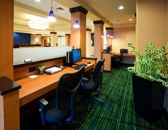 Fairfield Inn & Suites Albany: Business Center