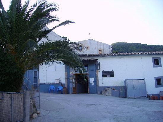 Alaró, Spania: Eingang zum Restaurant